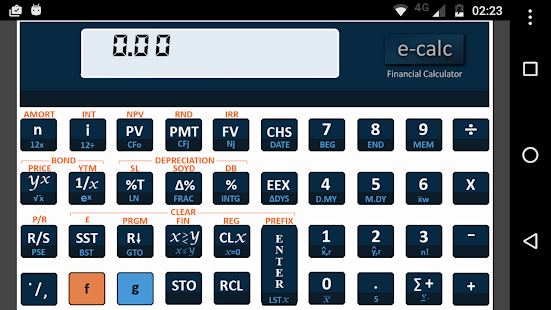 Financial Calculator Free- screenshot thumbnail