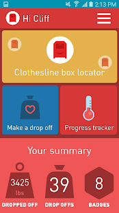 Clothesline Box Locator - screenshot