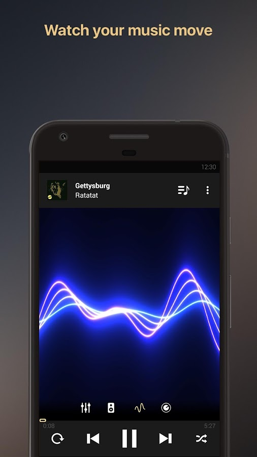 Equalizer music player booster Screenshot 2