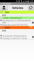 Screenshot of Sat System