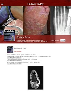 Podiatry Today- screenshot thumbnail