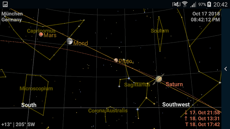 Astrolapp Live Planets and Sky Map Screenshot 0