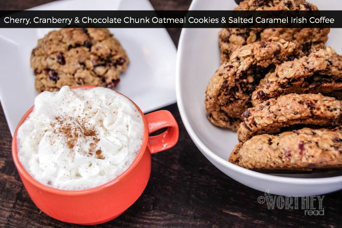 Cherry, Cranberry & Chocolate Chunk Oatmeal Cookies Recipe | Yummly