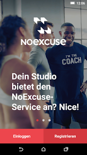 NoExcuse Fitness app screenshot 1 for Android