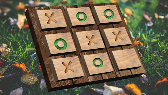 Wood Tac Toe - screenshot