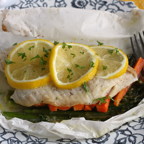 Fish Baked In Parchment