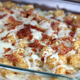 Chicken Bacon Ranch Tater Tot Bake