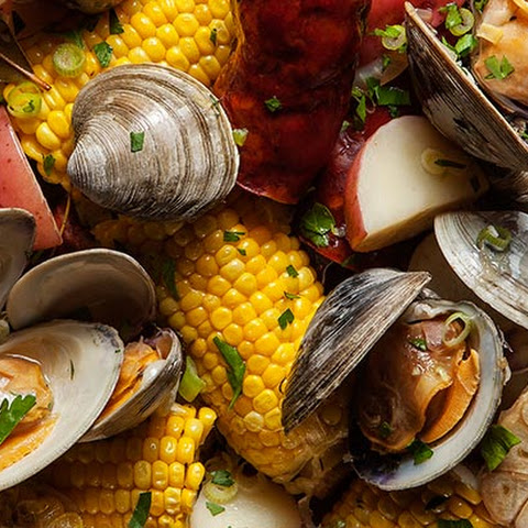 Portuguese New England Clam Boil