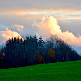 by Doug Hilson - Landscapes Cloud Formations