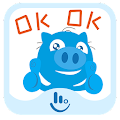 Uncle Pig TouchPal Sticker