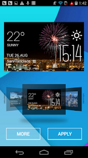 el paso weather widget/clock - screenshot