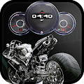 App Bikes Clock Wallpaper HD APK for Kindle