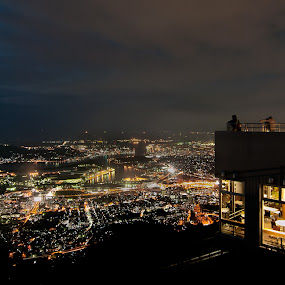 1 Million Dollar View by Donny Koerniawan - Landscapes Mountains & Hills ( mountain, dollar, night, view, city )