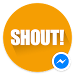 Shout! for Messenger Icon