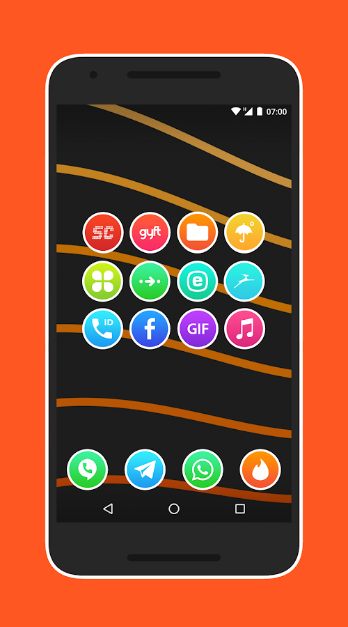 Lux Light - Icon Pack Screenshot 6