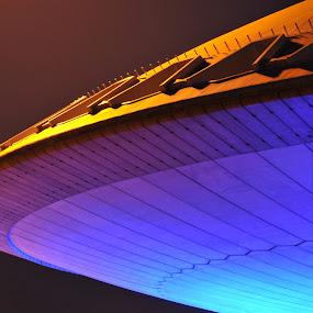 by Henk Verheyen - Buildings & Architecture Architectural Detail ( evoluon, eindhoven, netherlands )