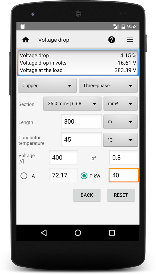 Mobile Electrician Pro Screenshot 1