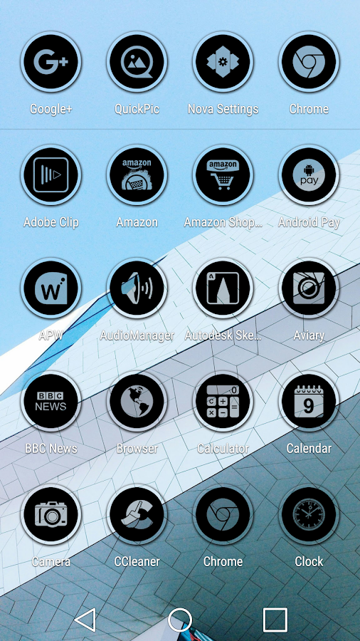 Miller Black - Icon Pack Screenshot 5