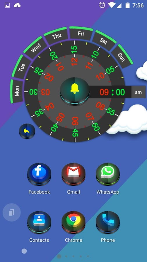 Neon 3D icon Pack Screenshot 2