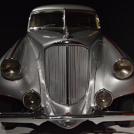 1933 Pierce-Arrow Silver Arrow (front) by Ada Irizarry-Montalvo - Transportation Automobiles
