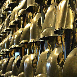 Wall of armour by Paulo Leitão - Abstract Patterns ( tower, london, armour, wall )