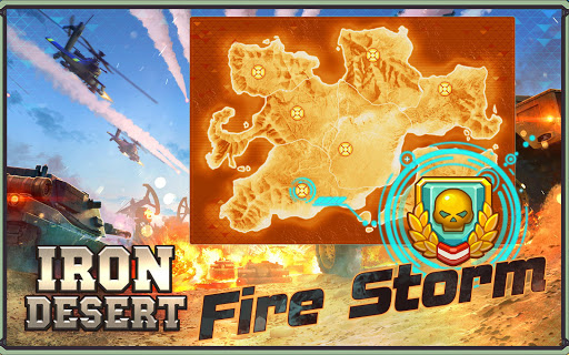 Iron Desert - Fire Storm screenshot 10