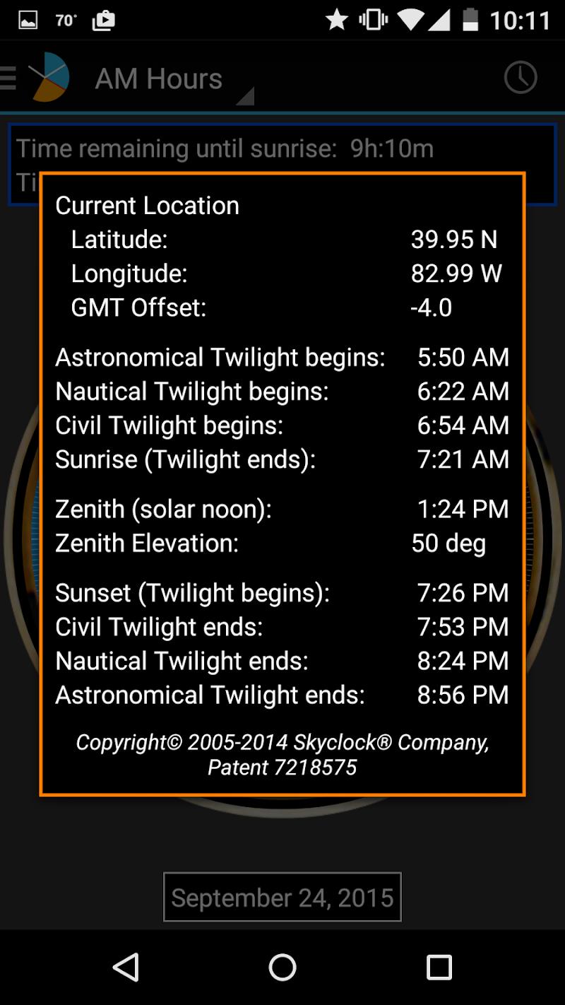 Skyclock Screenshot 4