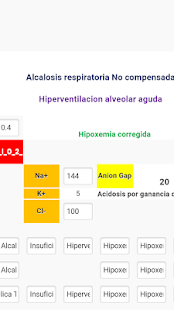 Gasometria Indices Gradientes - screenshot