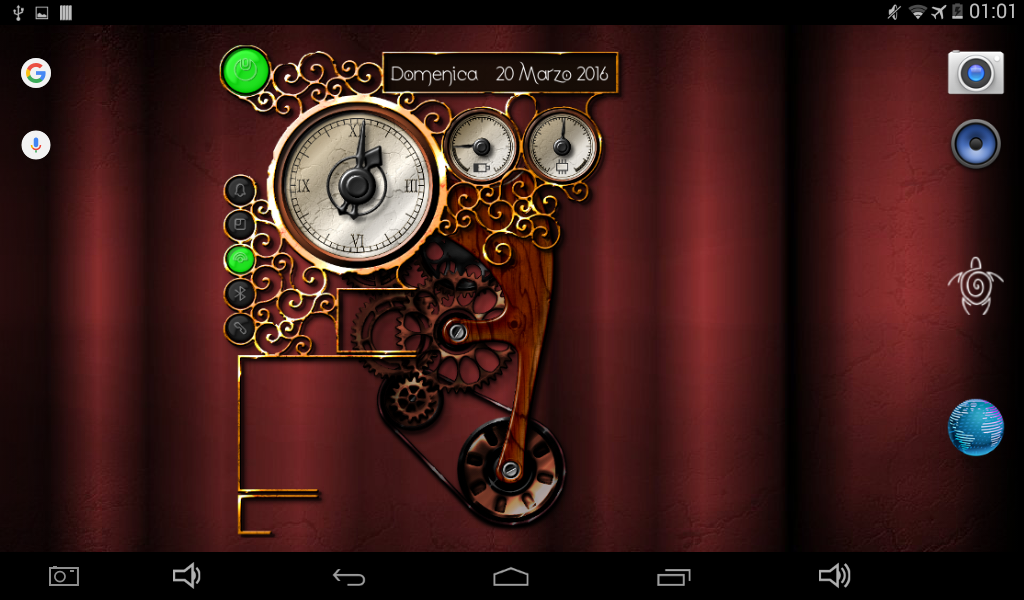 XtraOClock Steampunk Widget Screenshot 9