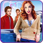 Neighbor Girl Love Story Virtual Family Games Icon