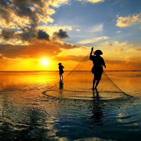 Sunrise Activity by Alit  Apriyana - Landscapes Sunsets & Sunrises