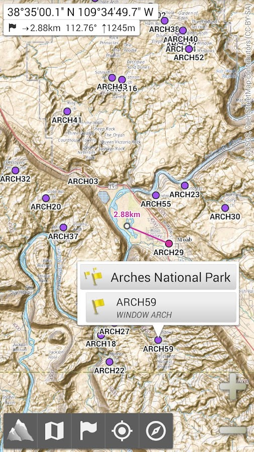AlpineQuest GPS Hiking Screenshot 0