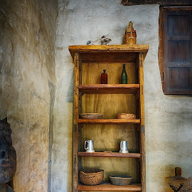 Interior- San Juan Capistrano Mission by Jose Matutina - Artistic Objects Furniture ( san juan capistrano, mission, art, historical, furniture,  )