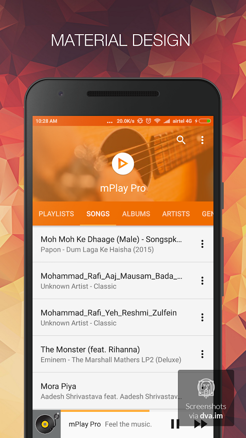 Music Player - mPlay Pro Screenshot 0