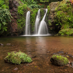 My Paradise by Rui Medeiros - Landscapes Waterscapes ( water, nature, waterscape, waterfall, landscape, azores,  )