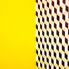 Yellow by Eirin Hansen - Abstract Patterns