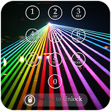 Laser Light Passcode Lock