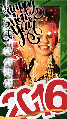 android New Year Photo Stickers 2016 Screenshot 4