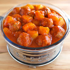 Passover Sweet and Sour Meatballs