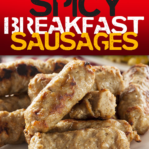 Paleo Breakfast Spicy Sausages
