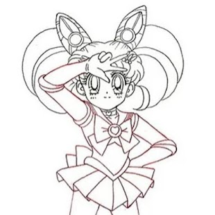 How To Draw Sailor Moon Easy