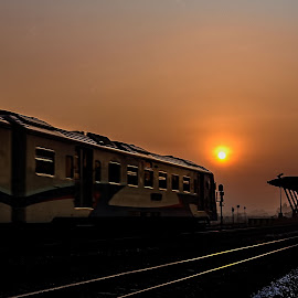 Good morning.... I am caming... by Agus Sudharnoko - Transportation Trains