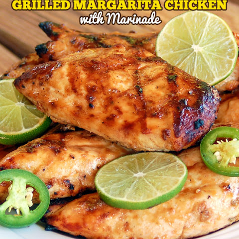 The Best Ever Grilled Margarita Chicken with Marinade