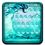 Blue Waterdrop Keyboard Theme Icon