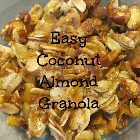 Easy Homemade Almond, Cranberry & Coconut Oil Granola Recept | Yummly