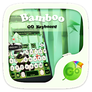 Bamboo GO Keyboard Theme Emoji