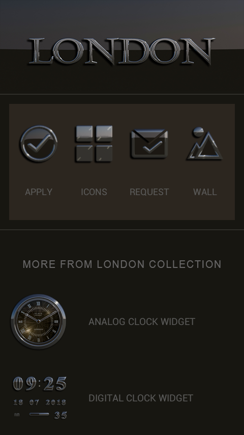 LONDON Icon Pack Screenshot 4