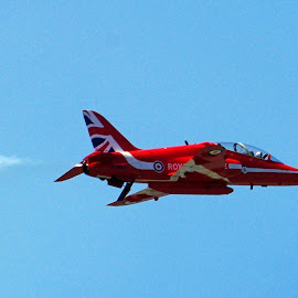 Red Arrow by Ingrid Anderson-Riley - Transportation Airplanes