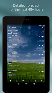 Transparent clock & weather APK baixar