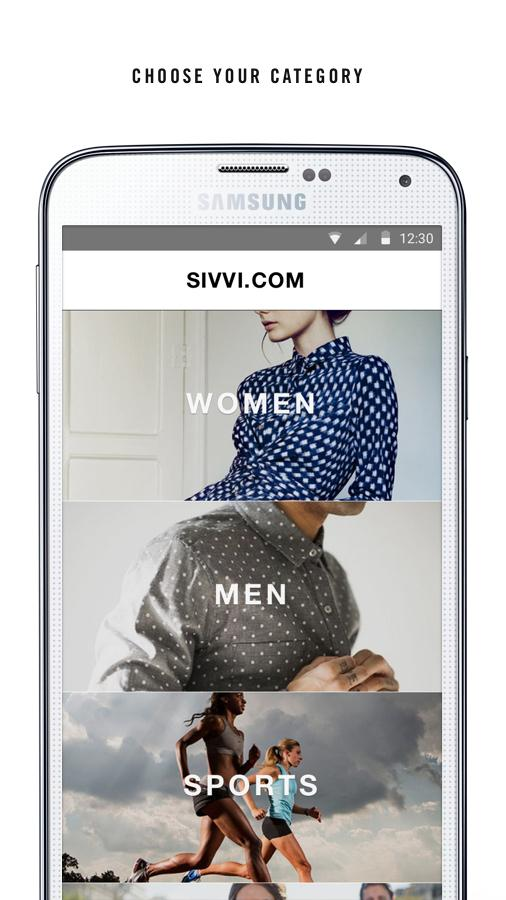 SIVVI Online Fashion Shopping Screenshot 1
